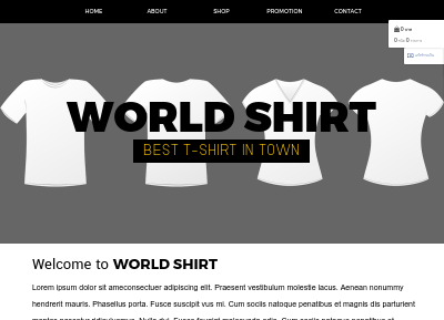WORLD SHIRT