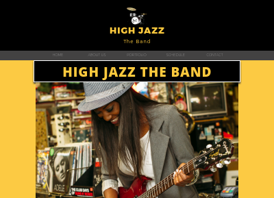 High Jazz The Band