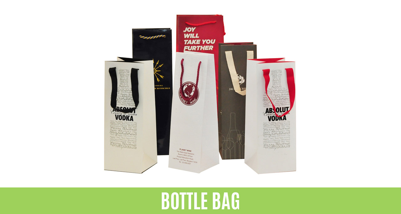 Paper Bag Manufacturer Exporter Producer Factory Asia Thailand